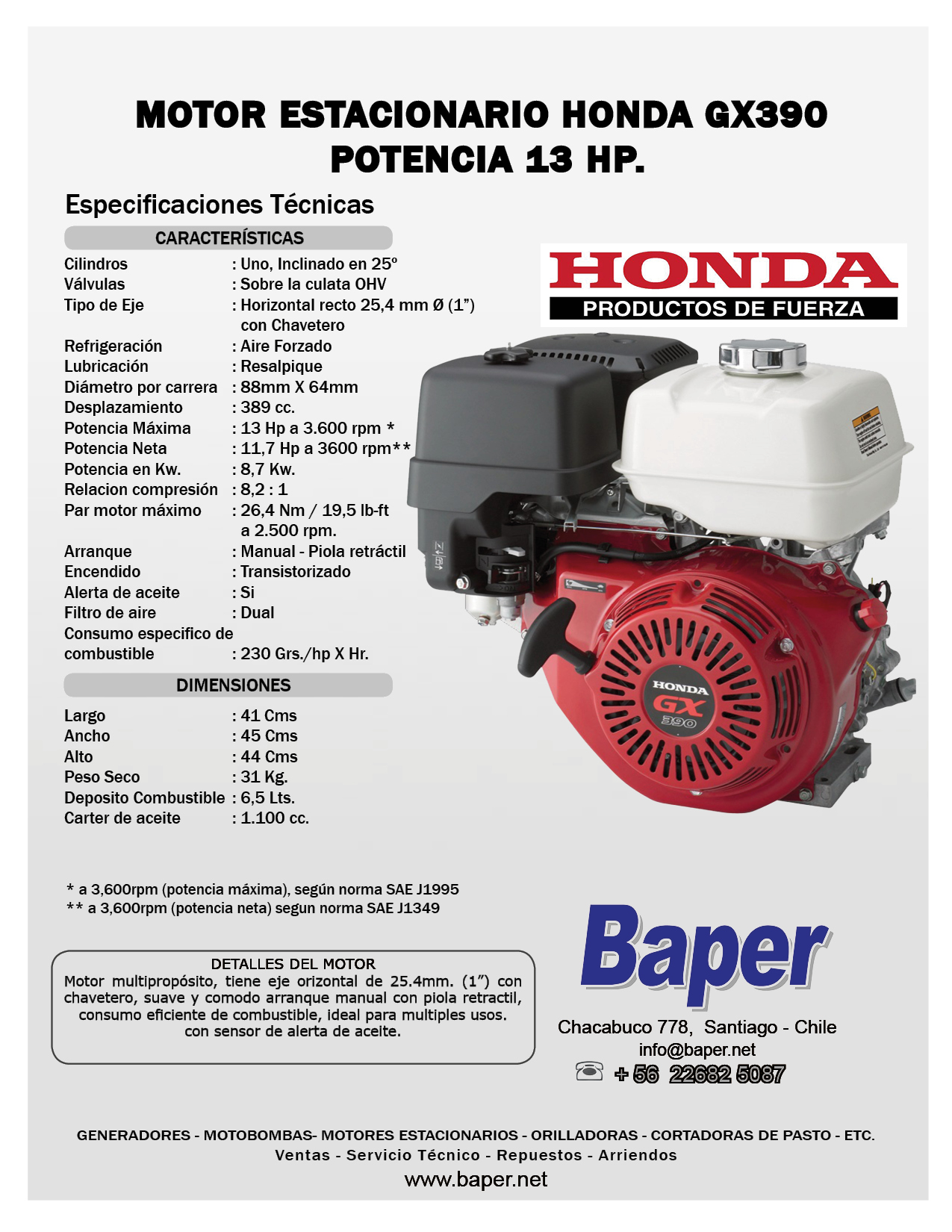 Honda 13 Hp Engine Manual