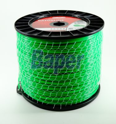 Rollo de Nylon 2.7 mm 351 Mts. p/orilladora