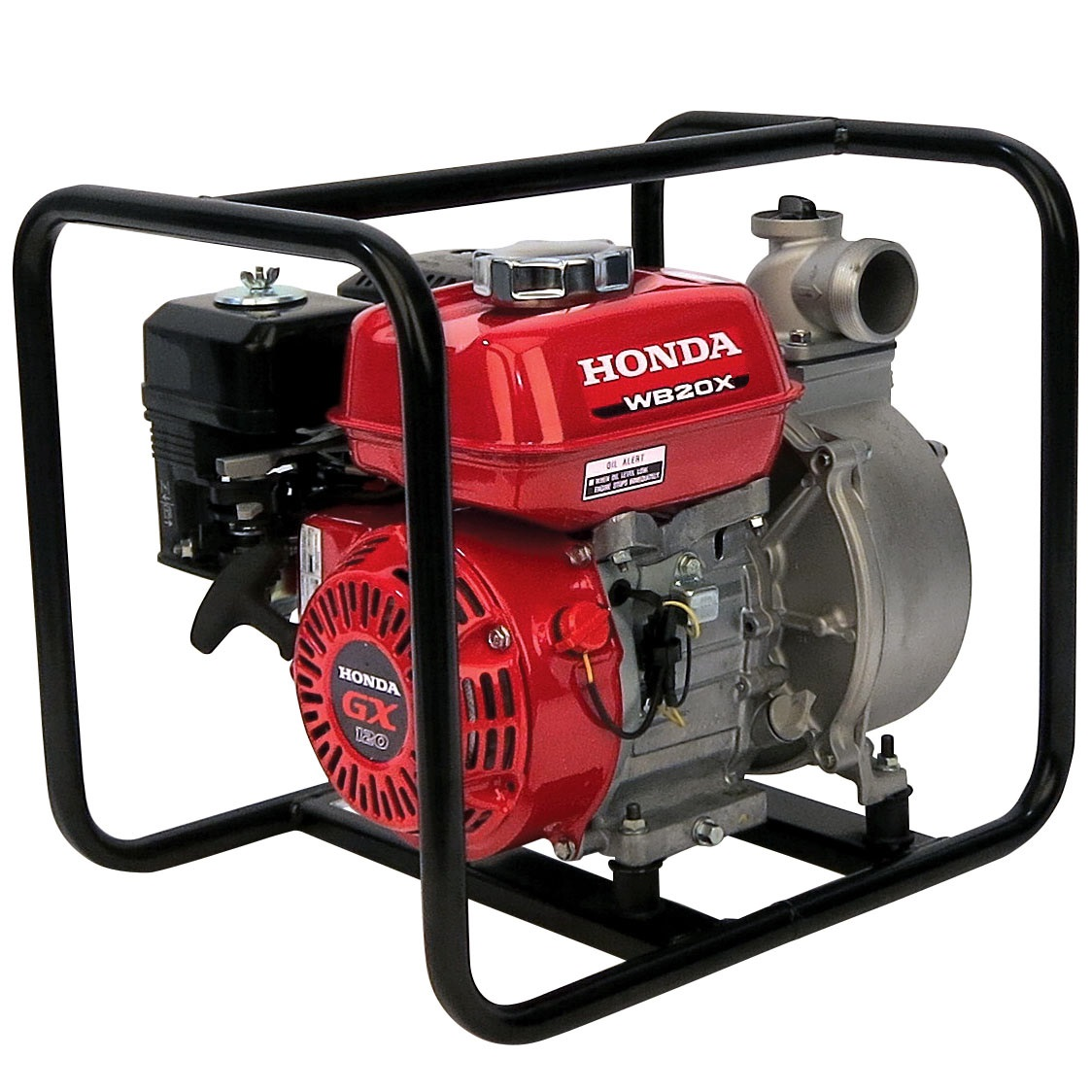 Motobomba Honda WB20X Caudal agua