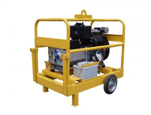 Generador Diesel 10 Kva Genpack Trifasico