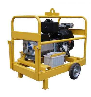 Generador Diesel 10 Kva Genpack Monofasico