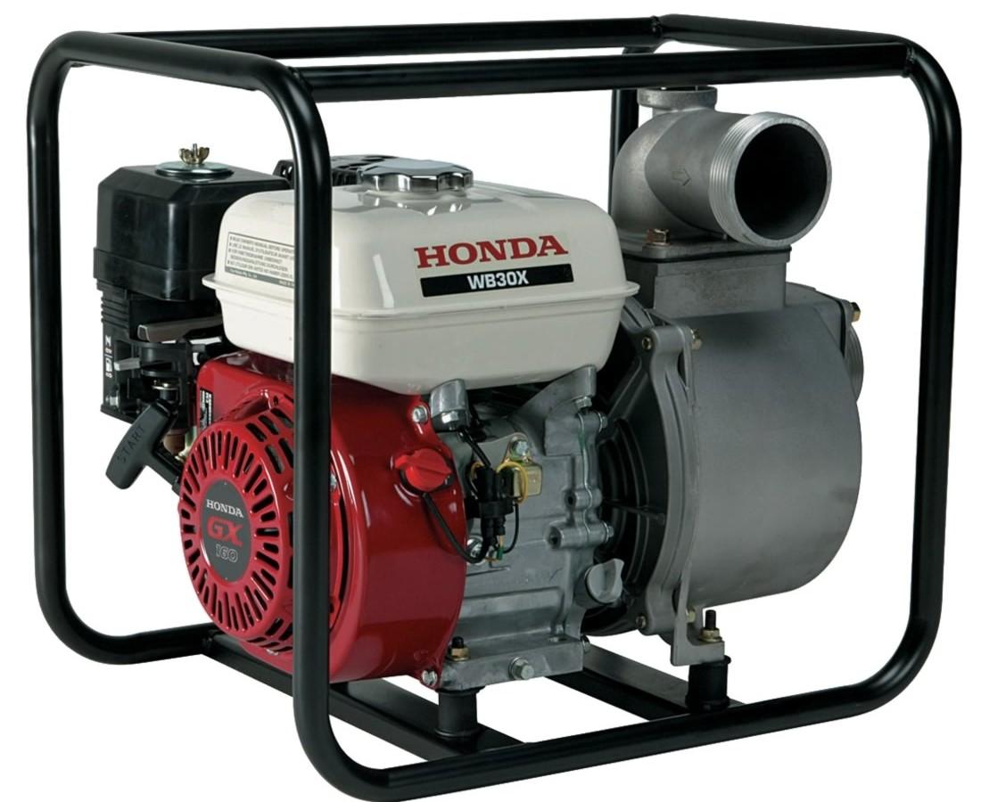 """ARRIENDO Motobomba Honda 3"""" Pulgadas estandar de caudal"""